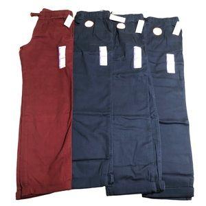 4 Pairs of New School Uniform Pants Boys XL 14-16